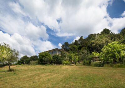Agriturismo Belvedere Cramaccioli, Narni, Umbria, immerso in un paesaggio umbro di olivi e vitigni